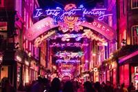 London Christmas Lights & Shopping
