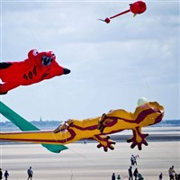 Lytham Kite Festival & Afternoon Tea at The Inn
