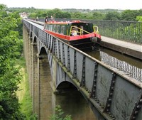 Llangollen & Aqueduct Cruise with Welsh Cream Tea