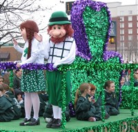 St Patricks Festival in Dublin & Co. Wicklow