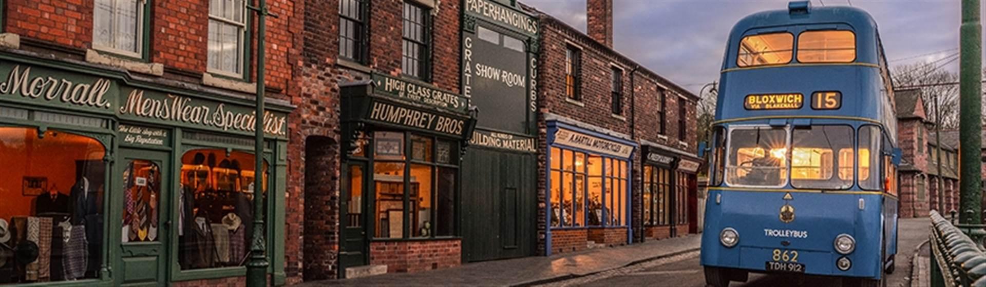 Border Towns, Steam Railway & Living Museum