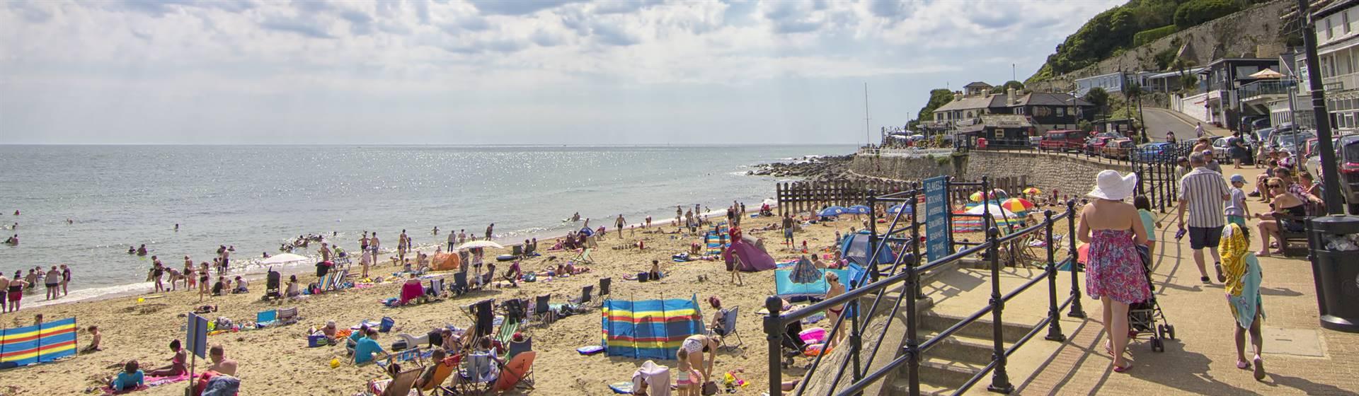 Ventnor Beach - visitisleofwight.co.uk