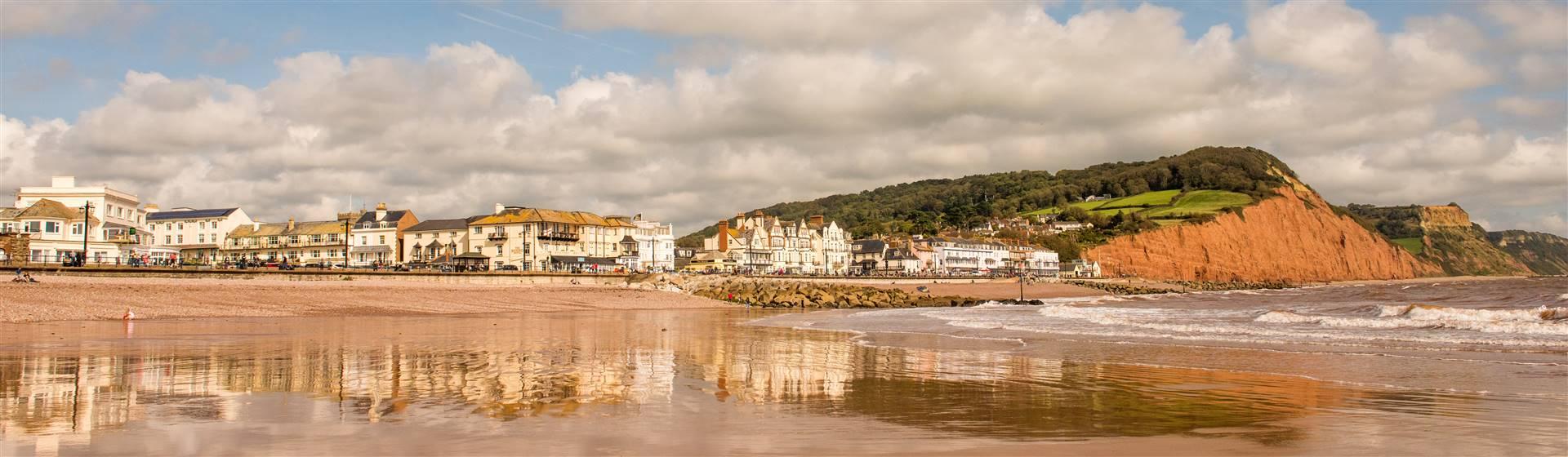 Main Beach Sidmouth - Sidmouth Town Council